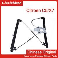 New original lifter assembly Lifter bracket (without motor) Glass lifting mechanism for 2009 2016 Citroen C5 X7
