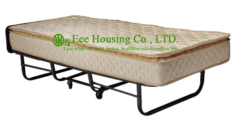 2016 Hot Sale Factory Price Hotel Extra Folding Bed,23cm Sponge Rollaway Beds For Guest Room Roll Away Folding Extra Bed