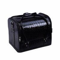 Homeda Cosmetic Bag Makeup Travel Professional Make Up Box Brush Necessaries Estojo De Lapis Maleta De