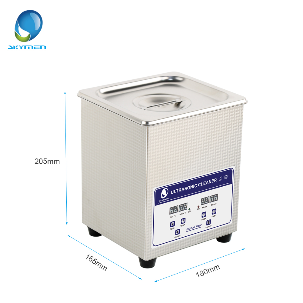 Image 2 - SKYMEN Digital Ultrasonic Cleaner Bath 2l ultrasonic cleaner 60W 110/220V pcb cleaner golf ball washer-in Ultrasonic Cleaners from Home Appliances