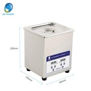 Image 2 - Skymen Digitale Ultrasone Reiniger Bad 2l Ultrasone Reiniger 60W Pcb Cleaner Golfbal Wasmachine