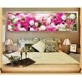 Набор для вышивки крестиком  круглая Алмазная мозаика для рукоделия  Алмазная мозаика  цветы  170x50 см