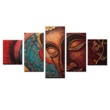 Home Decorative Wall Decor Buddha series poster Painting Art Silk Picture wall pictures for living room