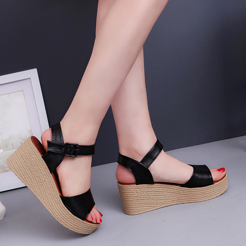 2019 Nieuwe Stijl Vrouwen Sandalen Zapatos Mujer Nieuwe Mode Zomer Helling Met Slippers Sandalen Loafers Schoenen Femme Ete 2017 Zapatos Mujer Casual