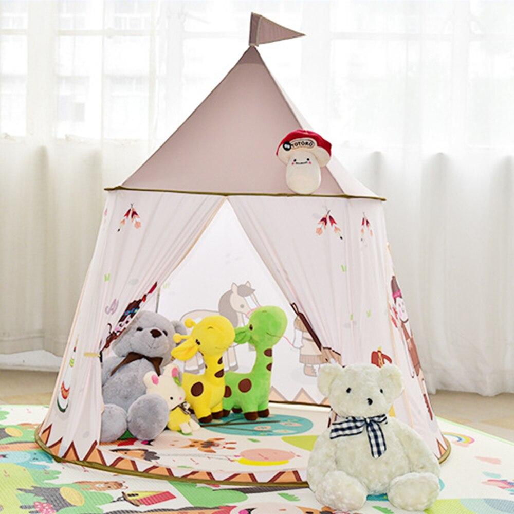 Enfants Portable Tentes Enfants maison de jeu Tente Piscine À Balles Tipi tente tipi Bébé Chambre D'anniversaire Cadeaux Photographie Props Maisonnettes - 5