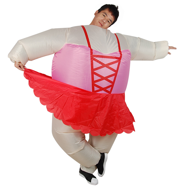 Purim Inflatable Bandage Ballerina Costume for Woman Adult Outfits halloween costumes for wome Disfraz Mujer Fantasia Adulto