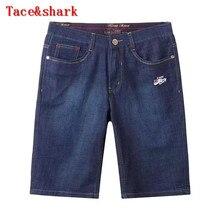 Jeans man Brand garments Tace&shark Jeans pants 5 Mens 2017 summer season New England simple lumbar embroidery leisure code