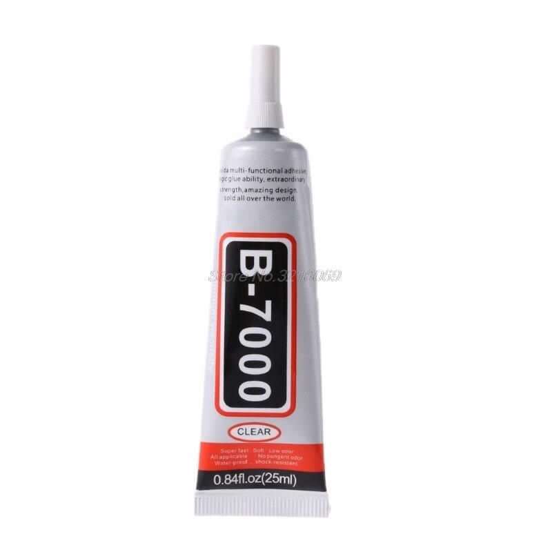 B7000 клей 25 мл промышленная прочность супер клей прозрачный жидкий B-7000 Клей Diy чехол для телефона ремесла жемчуг стразы AUG_19 капля