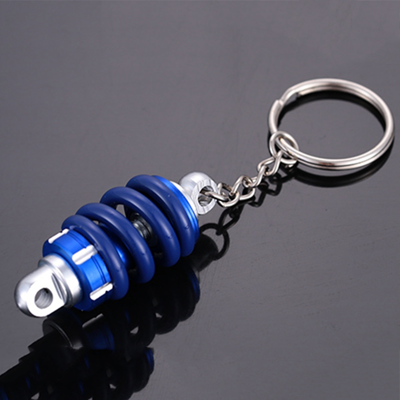 Key-Ring Motorbike Auto Car Motor-Modified-Shock-Absorber Car-Decoration