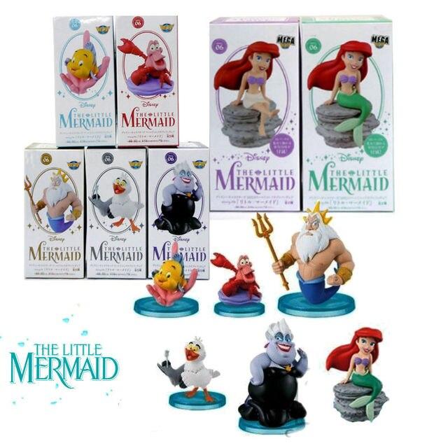 Personagens MEGA WCF História 6 A Pequena Sereia Ariel Figura