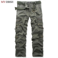 Free Shipping High Quality Men S Cargo Joggers Pants Military For Men Overalls Tactical Trousers Men