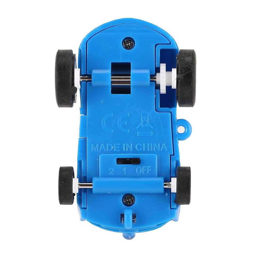 OCDAY DDG-4 Mini 25 กม./ชม. เลเซอร์ความเร็วสูง Fast Auto ไฟฟ้ารถแข่งรถที่มีแฟลช Light สำหรับเด็กของขวัญ