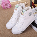 Kids Shoes For Girls Classic Spring Children Canvas Shoes High Top Lace-up Brand Kids Shoes Boys Teenagers Size 25-39