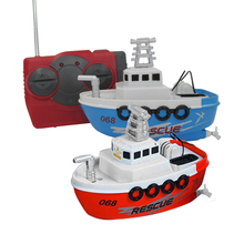 Mini 4CH RC Sailing Ship Boat Kids Child Remote Control Sailboat WarshipToyPowered Gift 4CH Remote Control