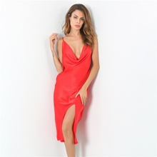 2017 New Sexy Fashion Sleeveless Dress Spaghetti Strap Evening Party Mid Velvet Dress Robe Velours Strap