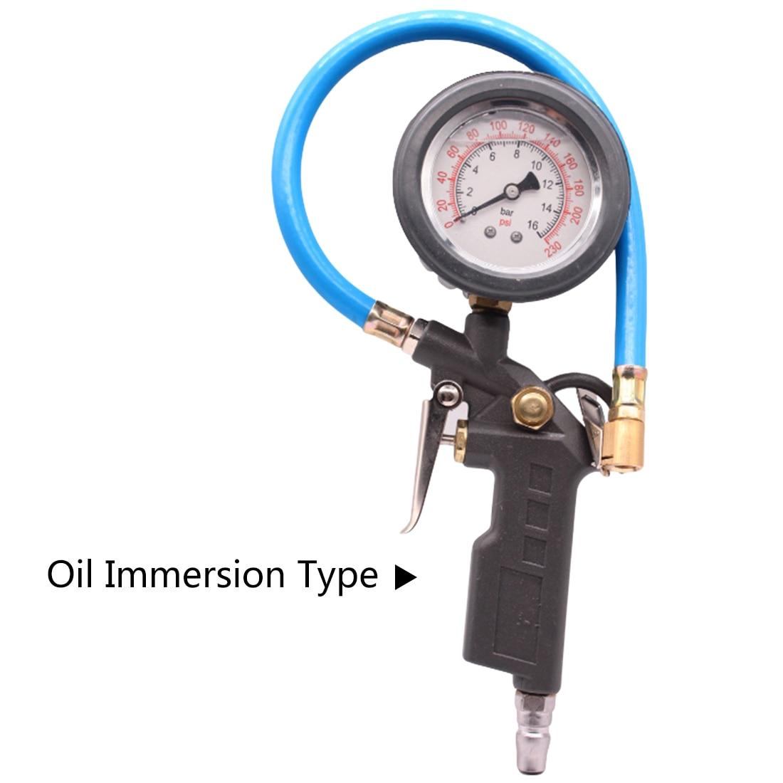 Автомобильный ЖК-дисплей цифровой 0-220PSI воздушный шиномонтажный манометр измерительный прибор