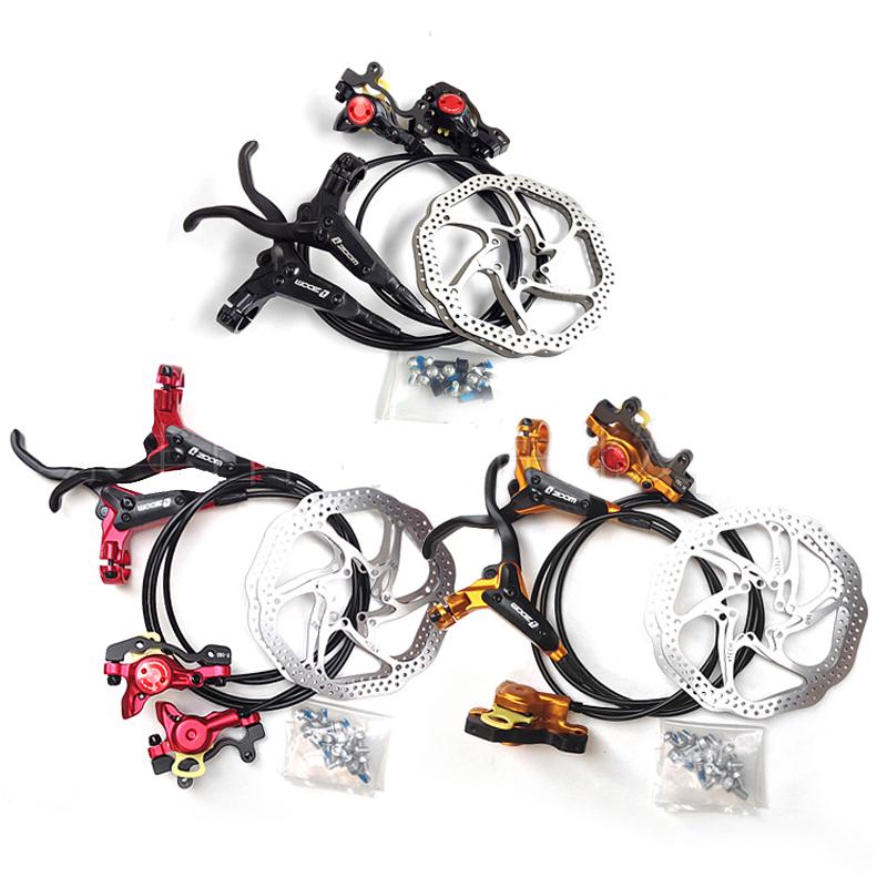 Prix pour Taiwan véritable huile de frein, hydraulique freins à disque vélo, vtt hydraulique huile de frein Célibataires Kit Hydraulique Disque De Frein
