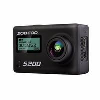SOOCOO S200 Action Camera Ultra HD 4 K NTK96660 + IMX078 met WiFi Gryo spraakbesturing externe mic GPS 2.45
