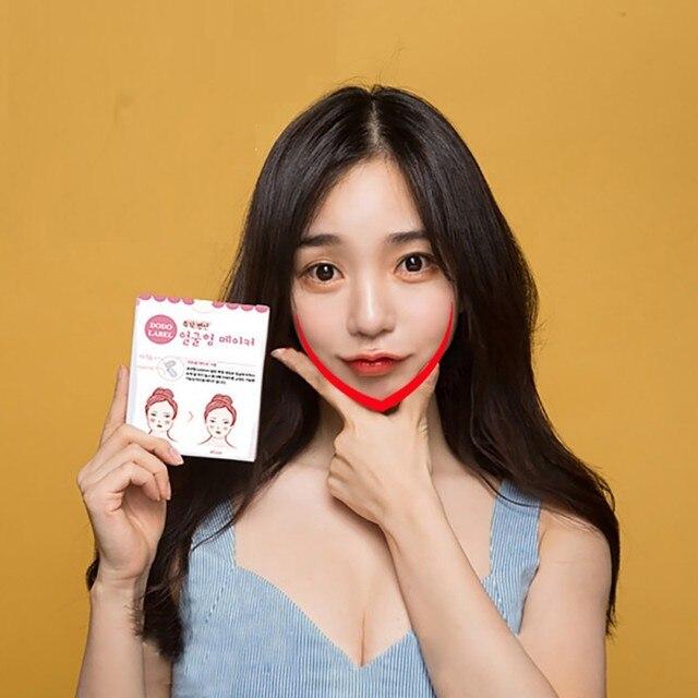 Top 1 Box 40pcs Lift Face Sticker Thin Facial Stick Artifact Invisible #KD09