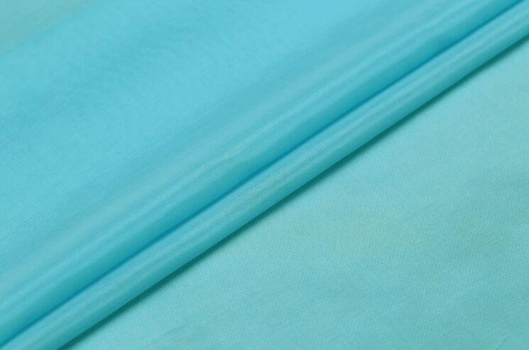 Howmay soie tissu coton mélange 9 m m 55 140 cm 50% soie 50% coton  turquoise bleu 114   pour doublure ou femmes robe écharpe de hijab bbcc95cacf0