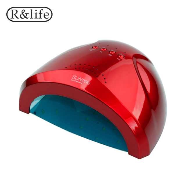 48W/24W SUNone LED&UV Lamp For Nails White Light Fast Gel Nail Polish Dryer Fingernail Toenail Curing Nail Art For Salon Tools