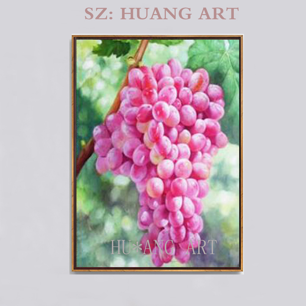 Realistic art museum quality still life pictorial red grape wine hand-painted oil painting decoration sofa living room dining roRealistic art museum quality still life pictorial red grape wine hand-painted oil painting decoration sofa living room dining ro