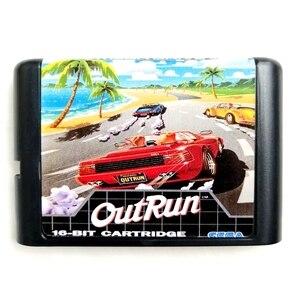 Image 1 - Out Run 16 bit MD Hafıza Kartı Sega Mega Sürücü 2 SEGA Genesis için Megadrive