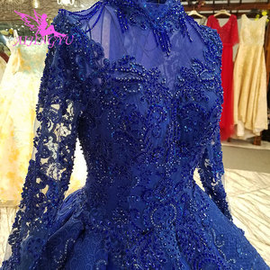 Image 4 - AIJINGYU 高級花嫁衣装キラキラプラスサイズワンダフルショップチューブ中国ガウン割引ウェディングドレス店
