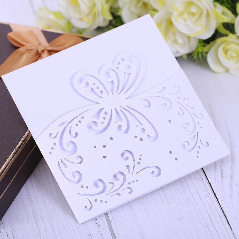 Segnaposto Matrimonio Aliexpress.Eleva Flowers Design Laser Cut Wedding Invitations Elegant Jungle