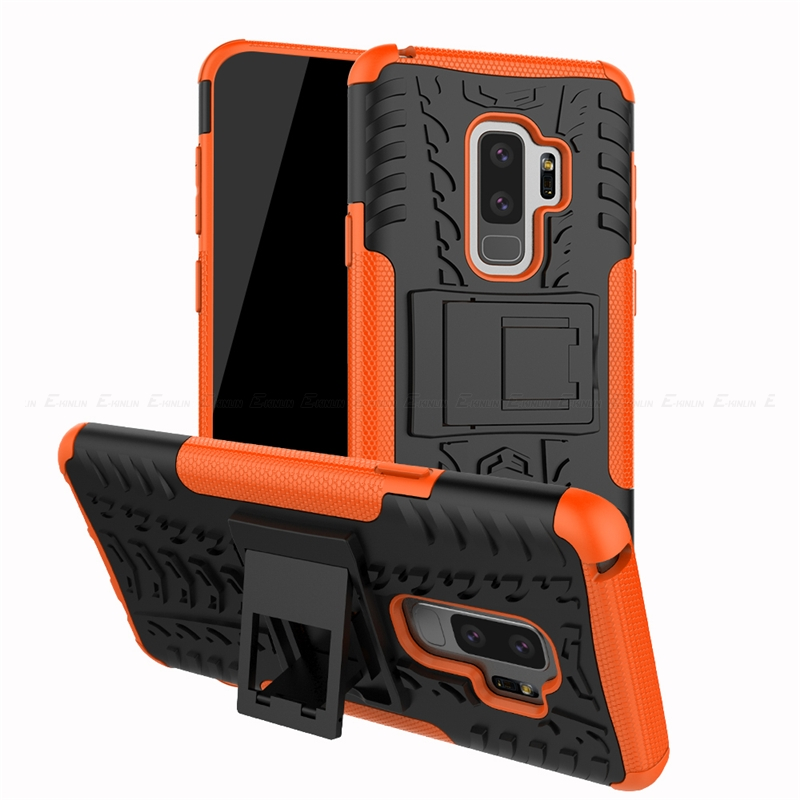 Armor Rugged Defender Rubber Case For Samsung Galaxy A6 A7 A8 Plus A9 J8 J7 Duo J6 J4 J3 J2 Pro 2018 Note 9 8 S10e S10 S9 S8