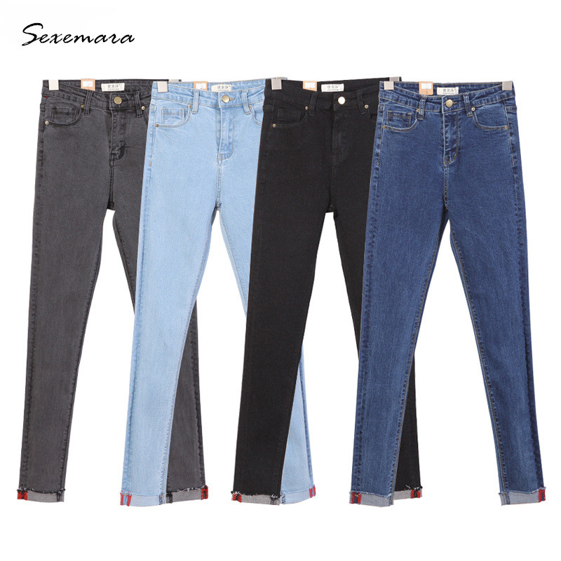 Popular Colored Skinny Jeans Women Stretch-Buy Cheap Colored ...