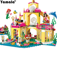 Yamala Princess Undersea Palace Girl Friends Building Blocks 402pcs Bricks Toys Compatible With Legoingly Princess