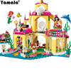 Yamala Princess Undersea Palace Girl Friends Building Blocks 402pcs Bricks Toys Compatible With Legoingly Princess