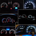 New 10pcs T5 5050 1SMD Wedge Dashboard LED Light Bulbs 2721 74 73 70 17 18 Hot