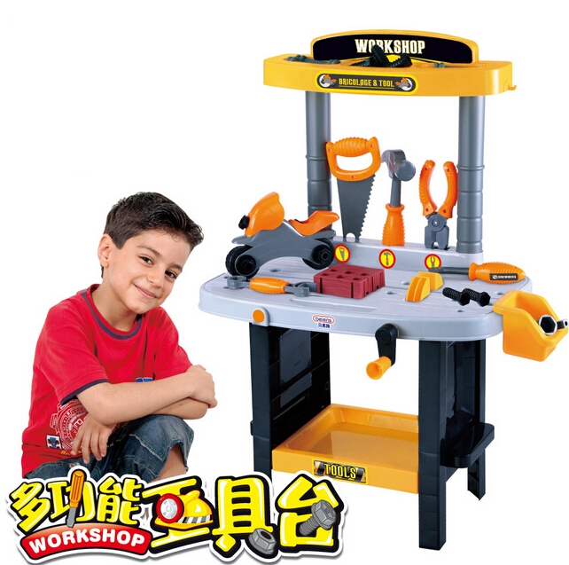 Kids Children Toy Tool Set Workbench Kids Children Workshop Toolbench Pretend Play In Underwear