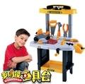 Niños de juguete para niños conjunto de herramientas taller workbench niños toolbench pretend play
