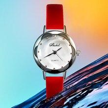 e5f7dbf9485 Mulheres Relógios PARIS Elegante Tendência Da Moda Fina de Quartzo Relógio  Mulheres bayan kol saati relógio