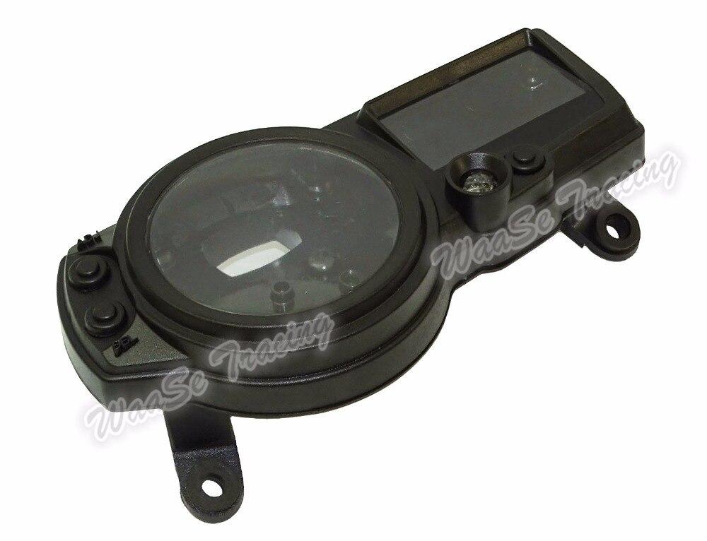 waase Speedometer Speedo Meter Gauge Tachometer Instrument Case Cover For SUZUKI GSXR1000 GSXR 1000 K3 2003 2004 brand new speedometer tachometer gauges case for suzuki 04 05 gsxr 600 750 gsxr1000 03 04
