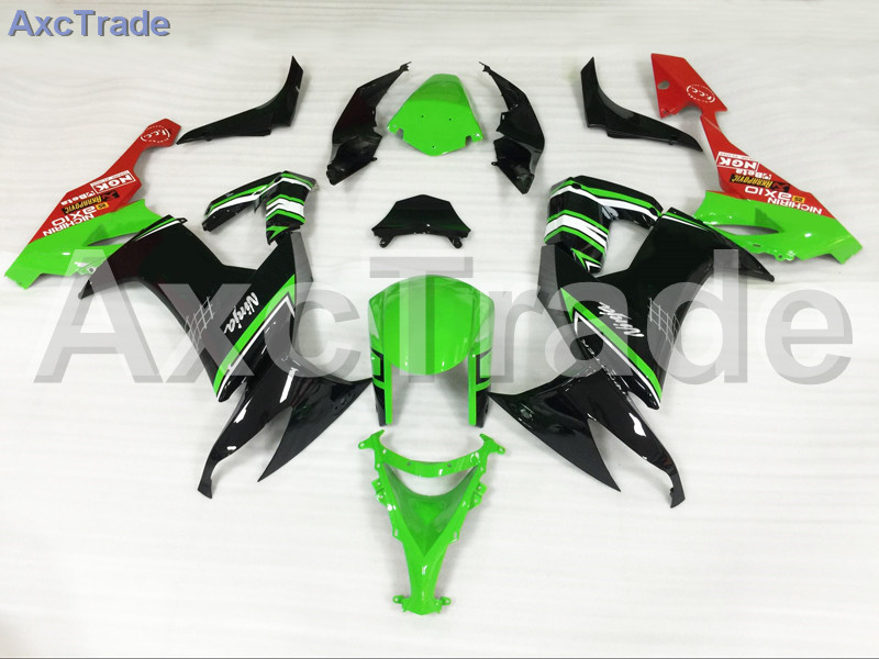Motorcycle Fairings For Kawasaki Ninja ZX10R ZX-10R 2008 2009 2010 08 09 10 ABS Plastic Injection Fairing Bodywork Kit Green black moto fairing kit for kawasaki ninja zx14r zx 14r zz r1400 zzr1400 2006 2007 2008 2009 2010 2011 fairings custom made c549