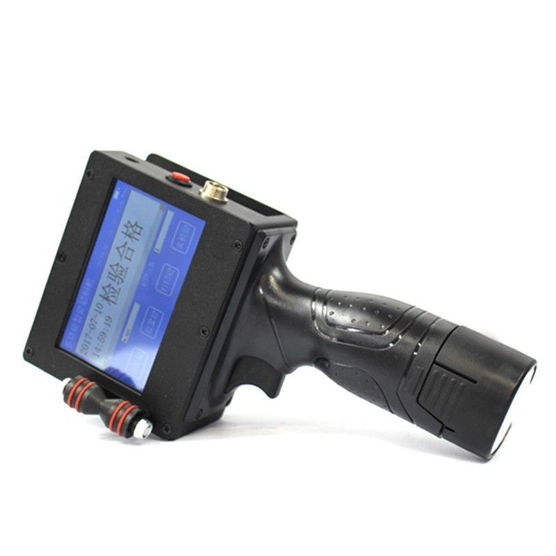 Высокое качество ручной Интеллектуальный струйный принтер Сенсорный Экран чернила Дата кодер кодирования машины