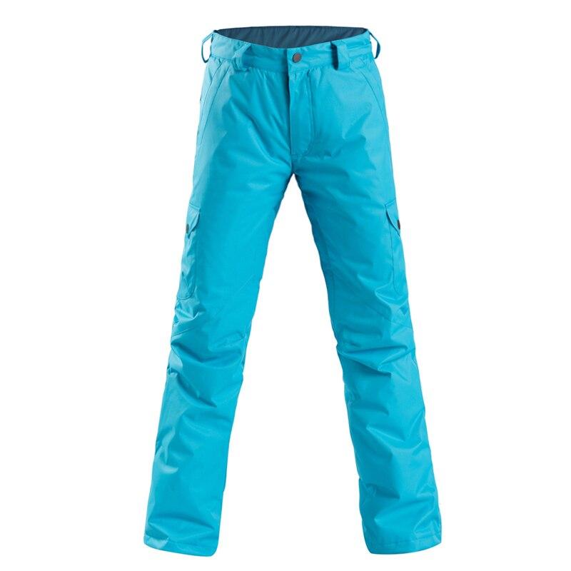 Pantalon de Ski femme pantalon de Ski chaud coupe-vent imperméable neige snowboard pantalon femme extérieur hiver pantalon de Ski pantalon - 5