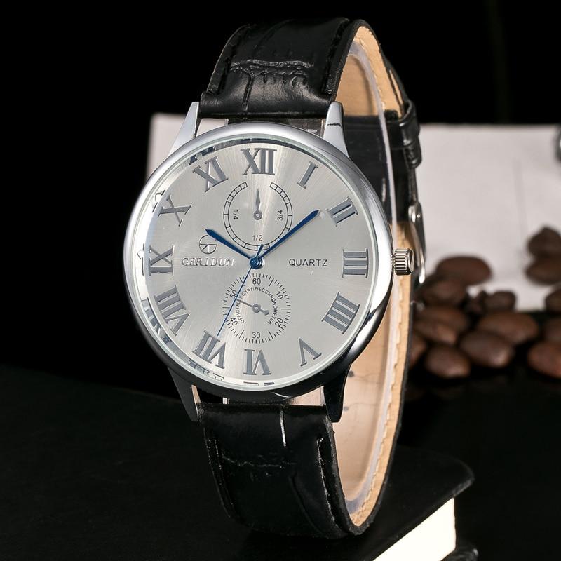 Nyeste merkevare menn Business klokker Mote Casual klokker Quartz - Herreklokker