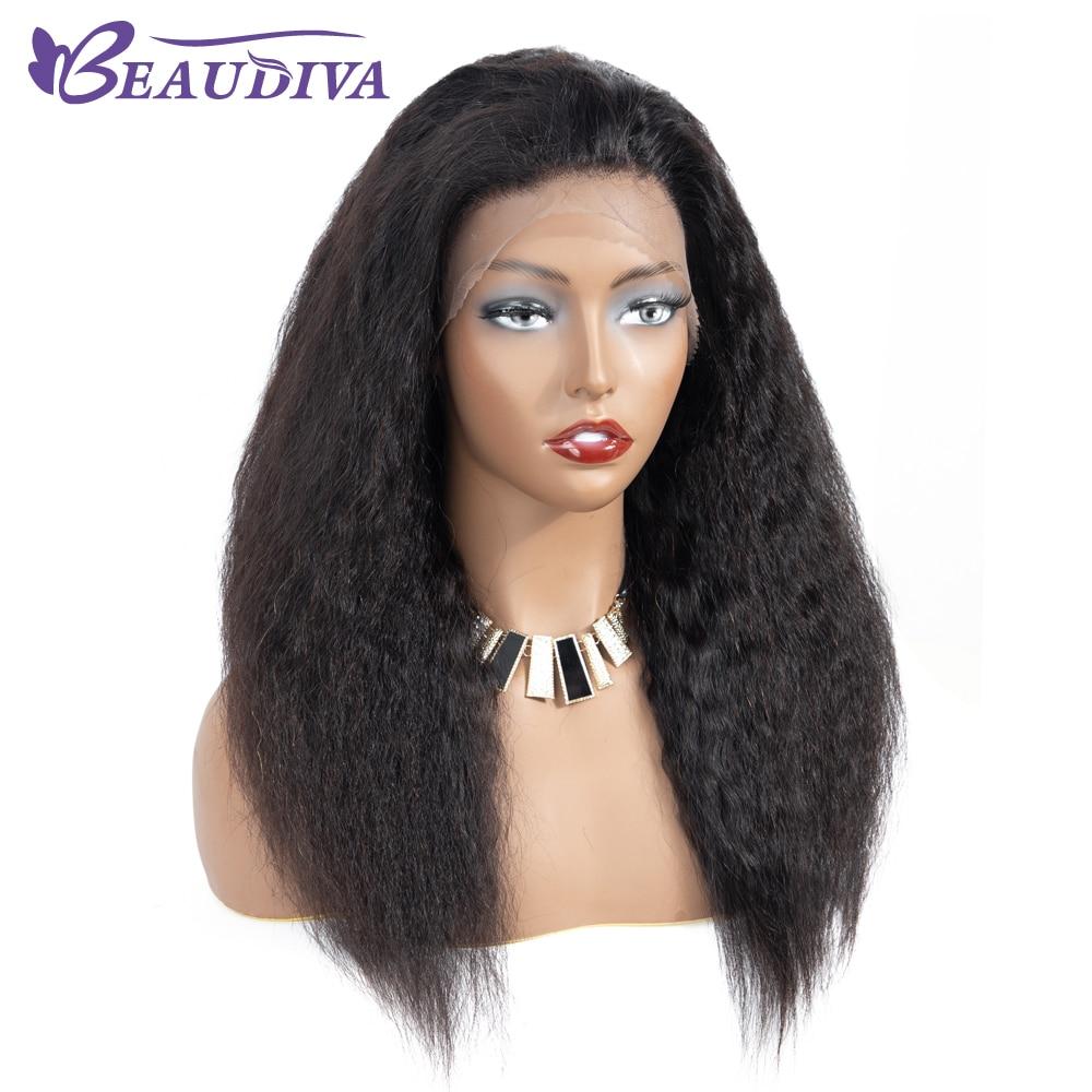 Beaudiva Hair Csipke Front Emberi Haj Paróka Baby Hair Water Wave - Szépség és egészség - Fénykép 4
