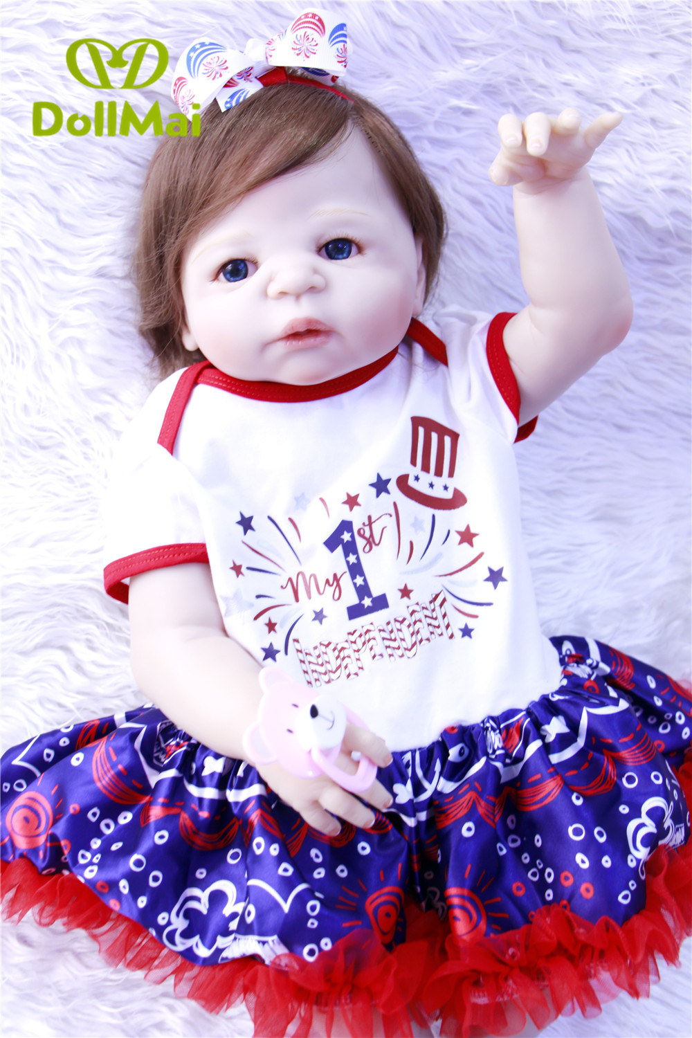 Baby doll reborn for sale  57cm full silicone reborn baby girl dolls like real human hair rooted bebes reborn child gift toysBaby doll reborn for sale  57cm full silicone reborn baby girl dolls like real human hair rooted bebes reborn child gift toys