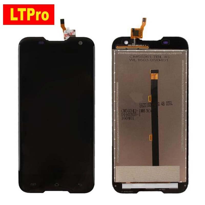 100 GOOD Working Black Full LCD Display Touch Screen Digitizer Assembly For Blackview BV5000 Mobile Sensor