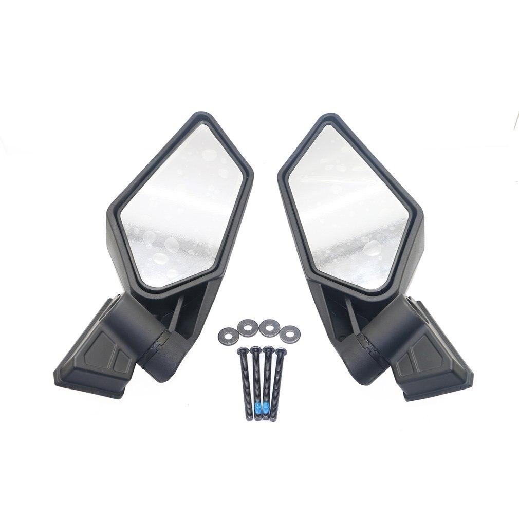 1 par Espelhos Retrovisores Espelhos Laterais para UTV UTV Corrida À Prova de Choque Can-Am Maverick X3 Off- acessórios estrada