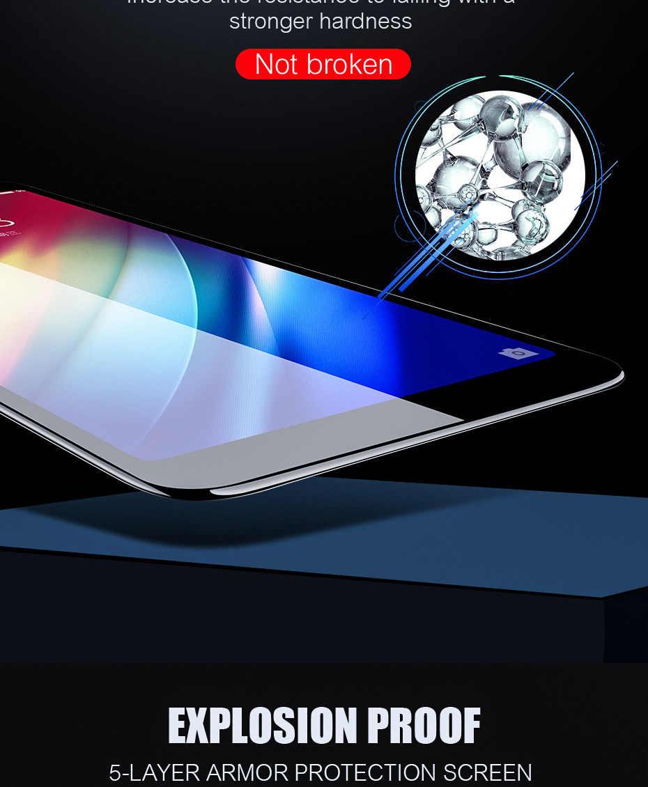10 шт. 9D полное покрытие из закаленного стекла для Xiaomi Mi 9 8 SE Lite 6 6X F1 F2 Play изогнутые края Защитная пленка для экрана