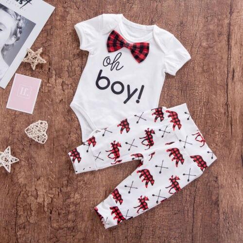 2 шт. для новорожденных для маленьких мальчиков милые в клетку с галстуком Одежда Джентльмен хлопковый комбинезон Топ Леггинсы Брюки для де...