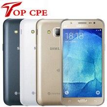 Разблокированный samsung Galaxy J5 J500F J500H 8 Гб ПЗУ 1,5 ГБ ОЗУ 1080P 13,0 МП камера 5,0 дюймов LTE отремонтированный мобильный телефон