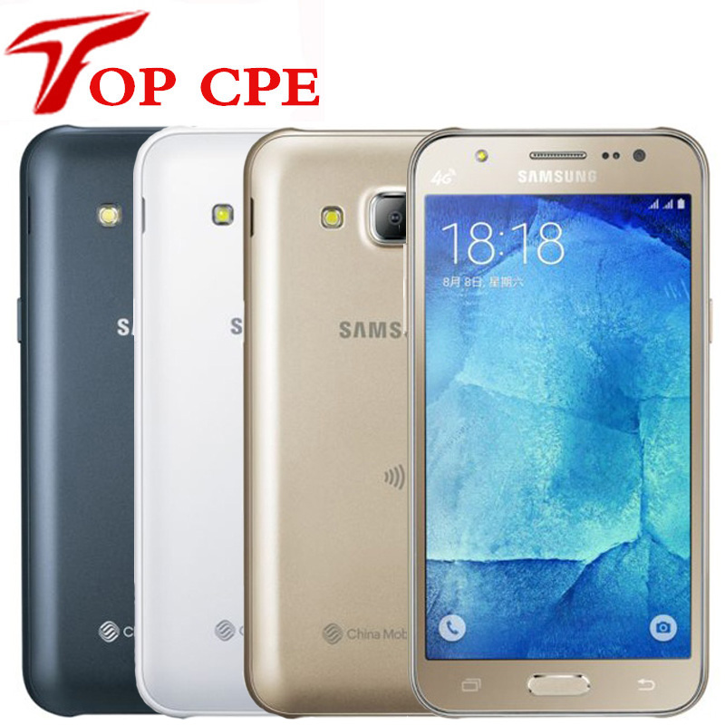 Samsung Galaxy J5 Unlocked J500F 8GB GSM/WCDMA/LTE Bluetooth Quad Core 13mp Refurbished title=